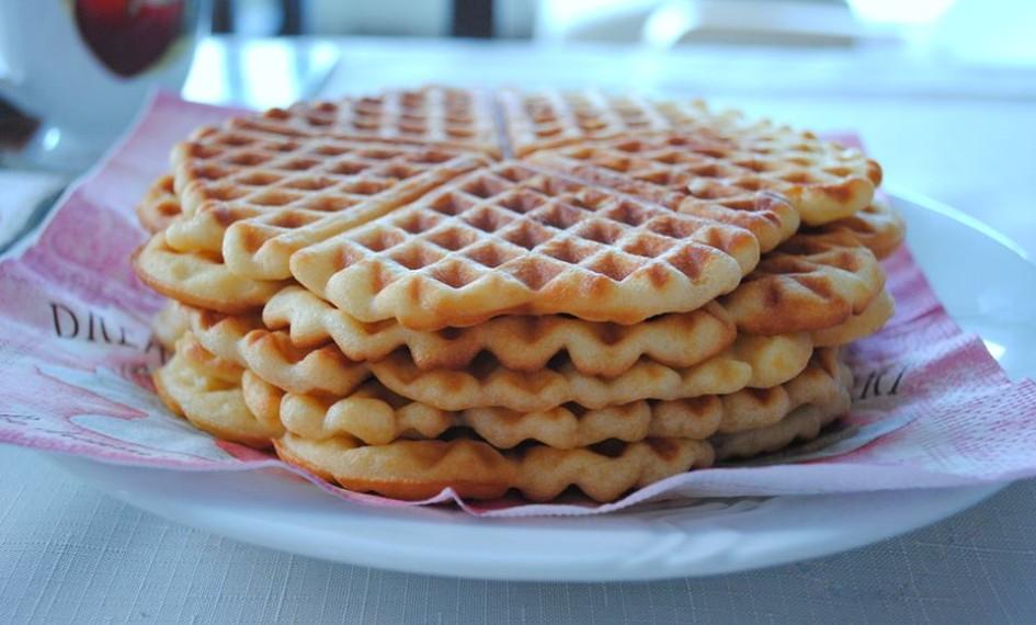 belgicke waffle recept