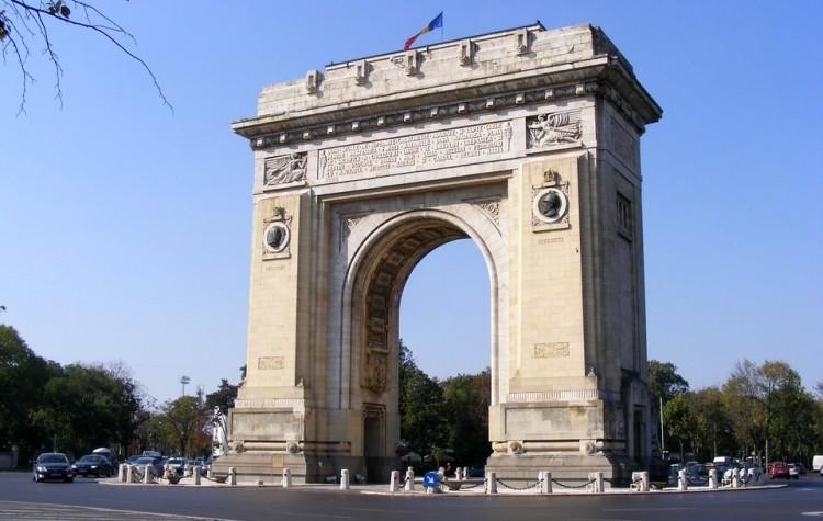 Víťazný oblúk v Bukurešti (zdroj: pixabay.com)