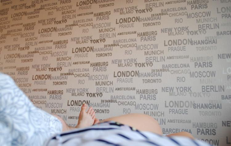 ubytovanie airbnb posteľ