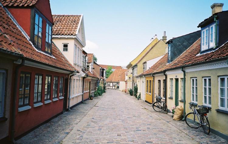 Odense pripomína Pontypandy