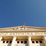 Budova divadla v Ostrave