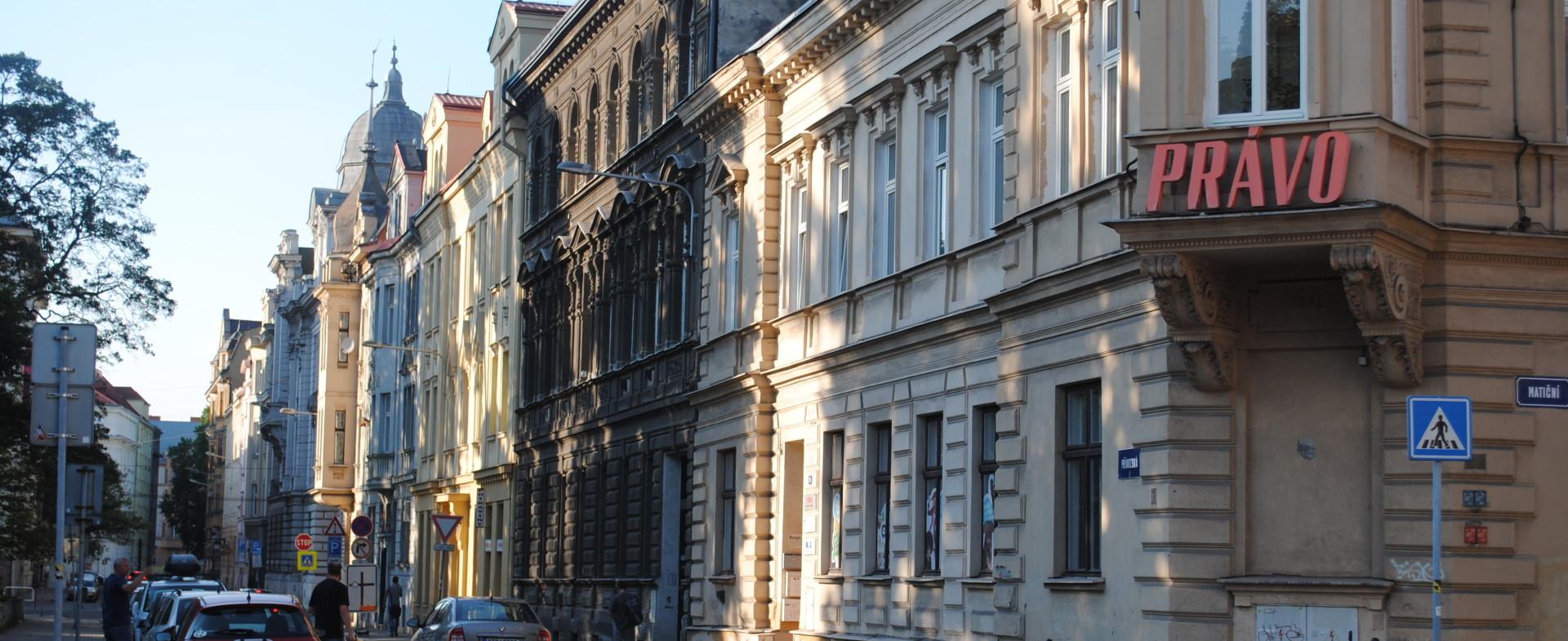 Prekrásne budovy v Ostrave