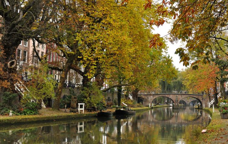 Utrecht trochu pripomína Amsterdam, s tým rozdielom, že je krajší (zdroj: flickr.com/SanShoot)