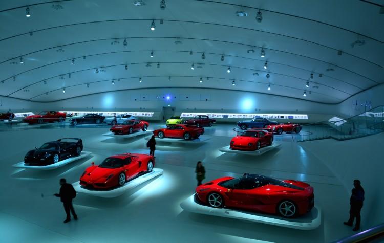 ferrari garáž múzeum enza ferrariho modena