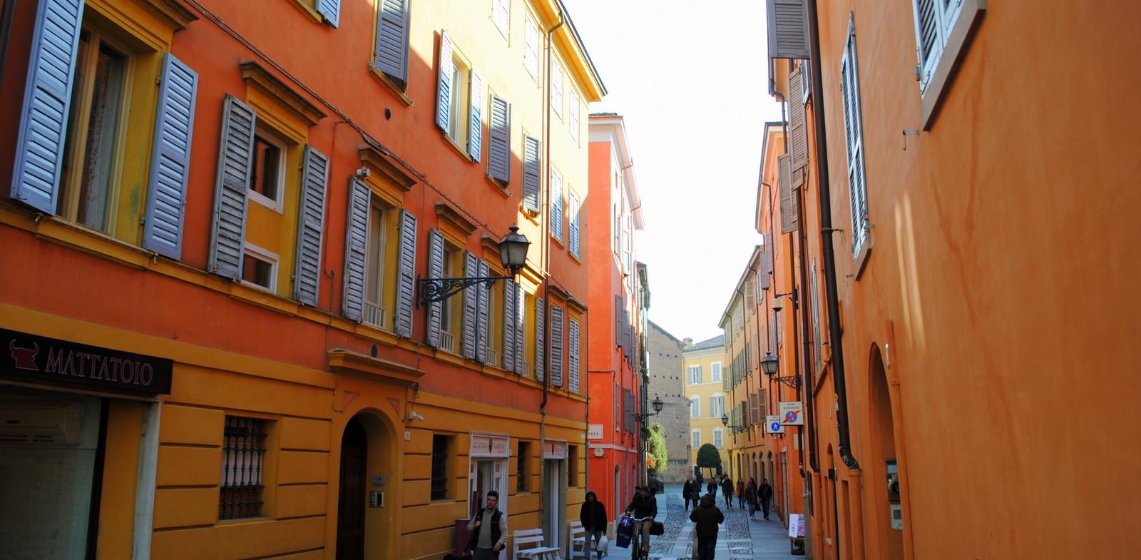 Straťte sa v uličkách Modeny