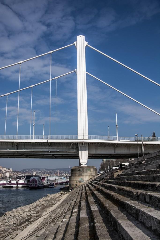 Erzsébet híd budapest