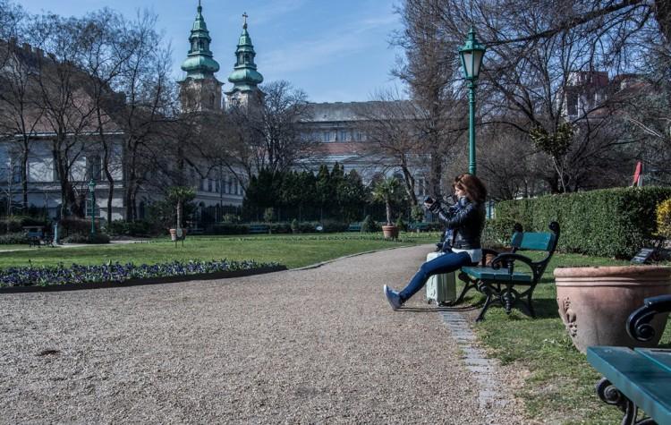 park v Budapešti Károlyi