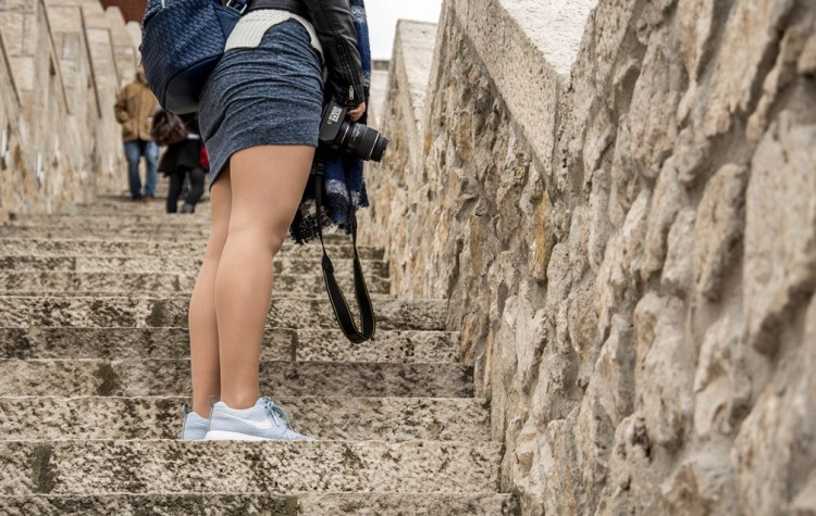Buda castle stairs