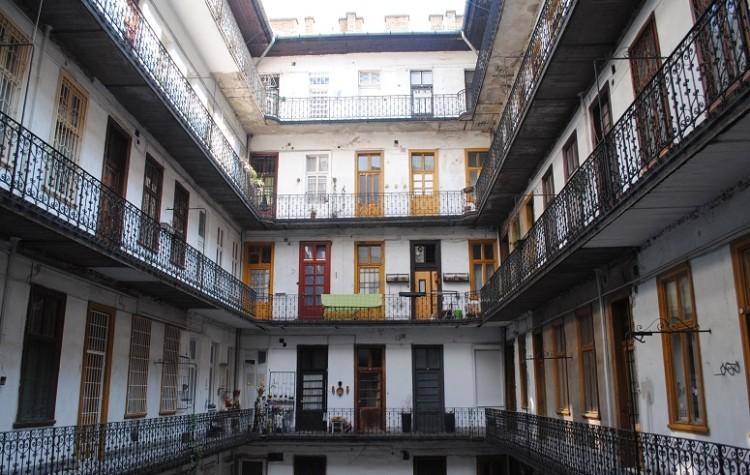 Budapest bytovka pavlace