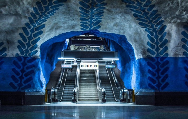 T-Centralen Stockholm metro zástavka
