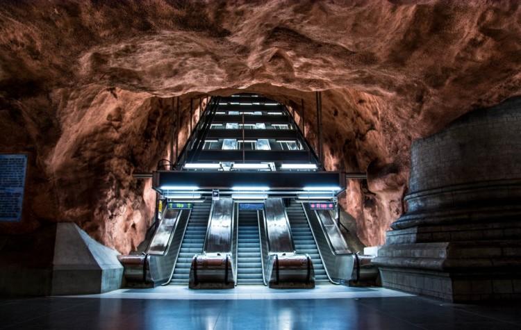 radhuste stockholm metro station