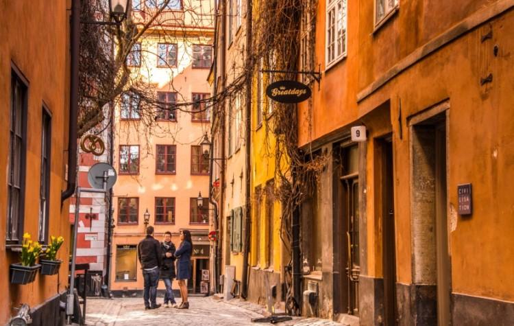 gamla stan streets