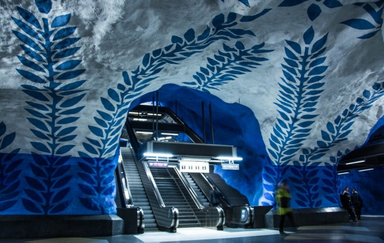 T-centralen metro station stockholm