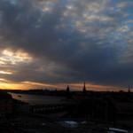 Výhľad na Štokholm z Katarinahissen
