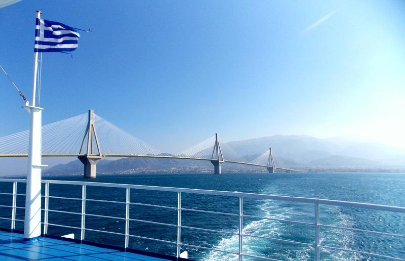 patras grécko most