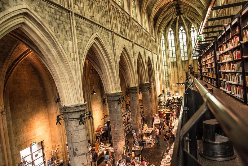 kostol maastricht Boekhandel Dominicanen kníhkupectvo