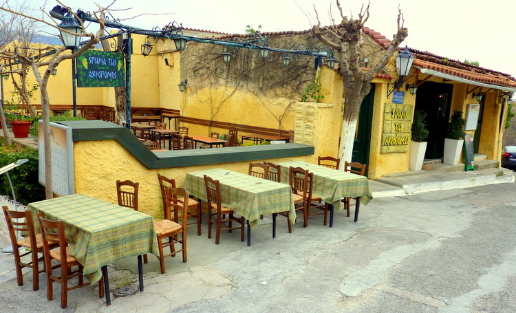 taverna atény