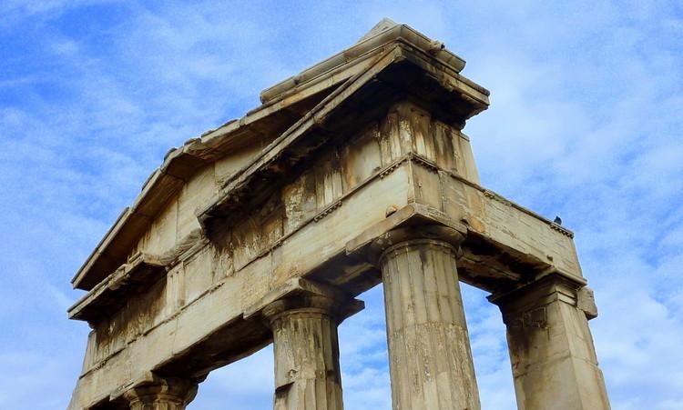 chrámy atény