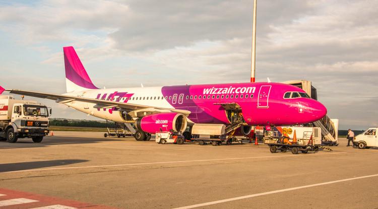 lietadlo wizzair letisko budapešť