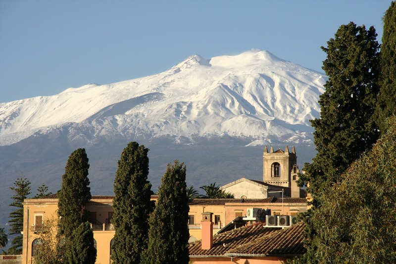 taormina sicília región taliansko
