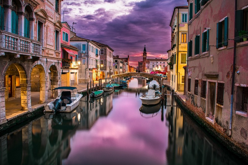 benátsko benátky región taliansko
