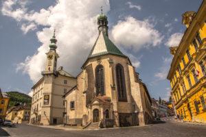 banská štiavnica kostol svatej katariny