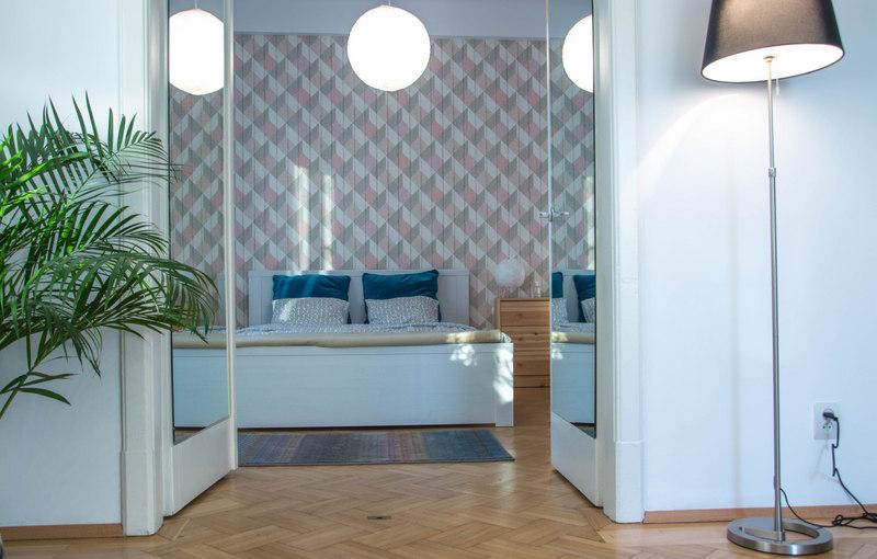 airbnb spálňa bukurešť