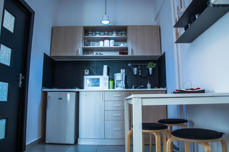 airbnb bukurešť kuchyňa