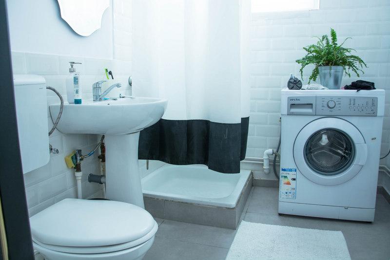 kúpeľňa airbnb bukurešť