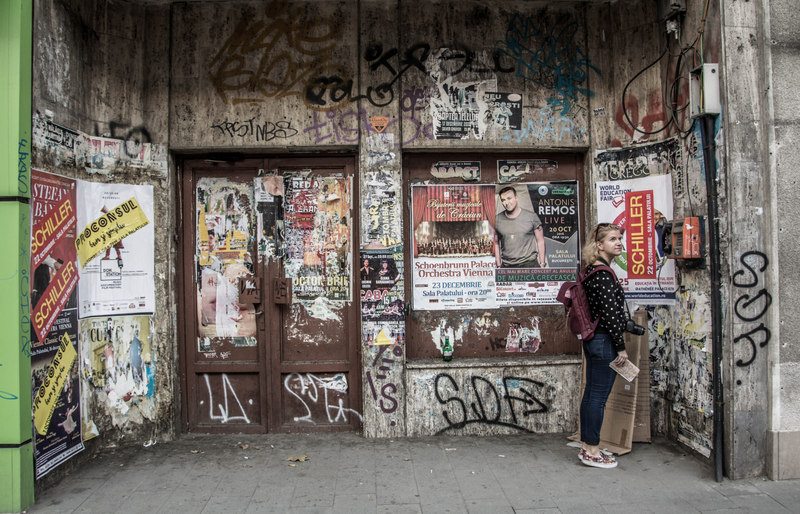 ulice graffiti bukurešť