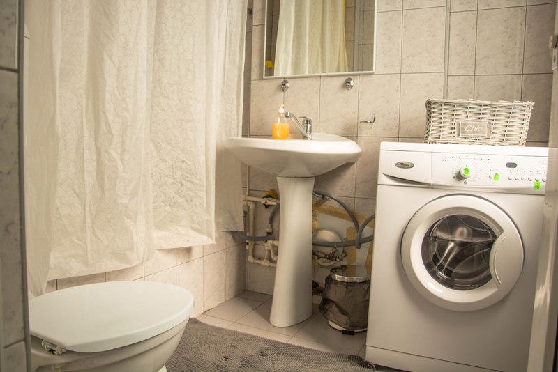 kúpeľňa ubytovanie airbnb bukurešt