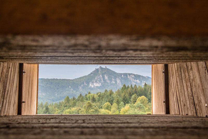 výhľad zraková pyramída súľov