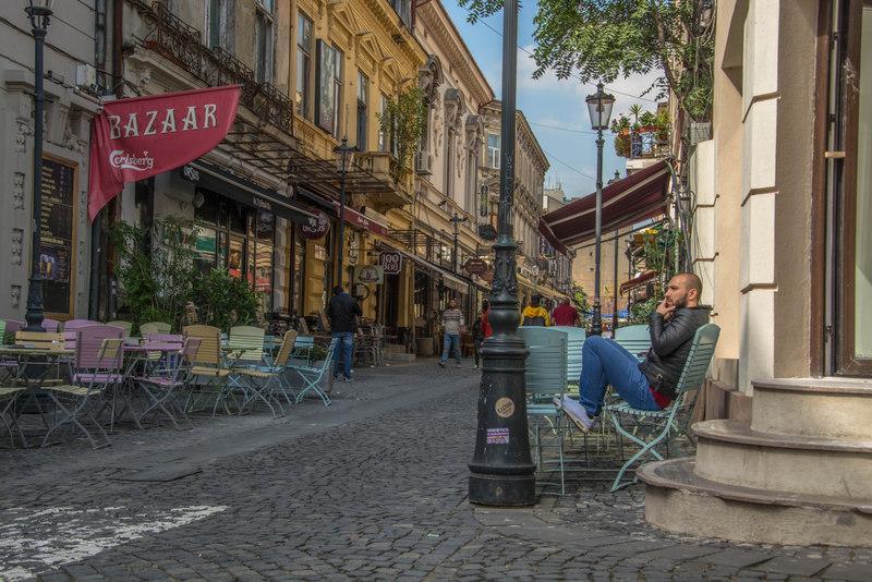 historické centrum Bukurešť