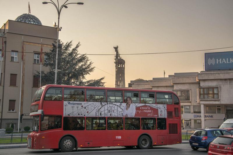Doubledecker v Skopje