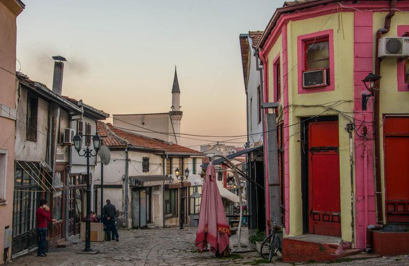 Old Bazaar v Skopje