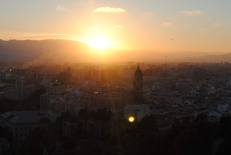 Výhľad z Gibralfara
