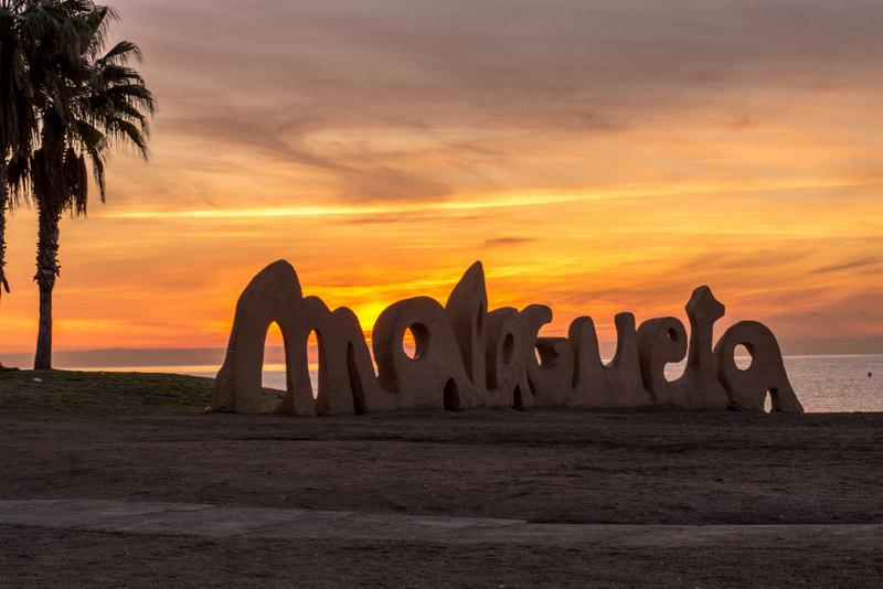 východ slnka malaga