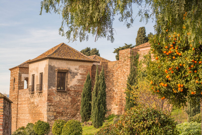 pevnosť alcazaba malaga