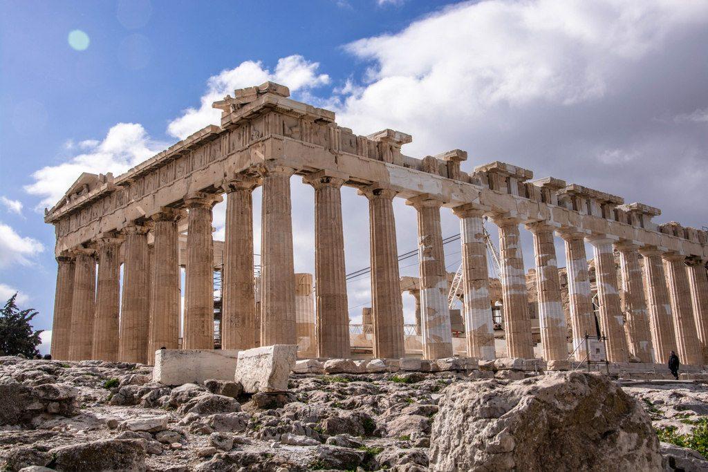 Parthenón atény