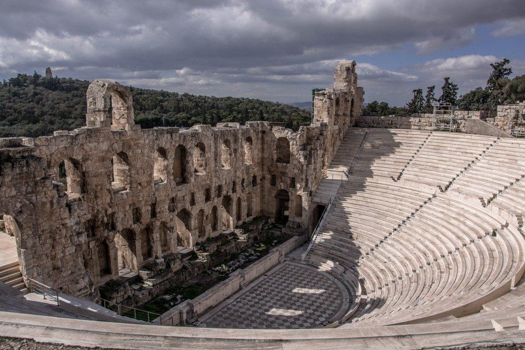Divadlo atény akropola