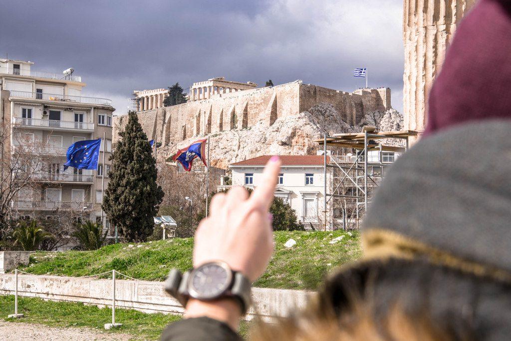 parthenón akropola
