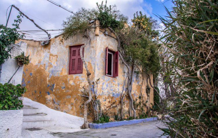 grécko atény anafiotika