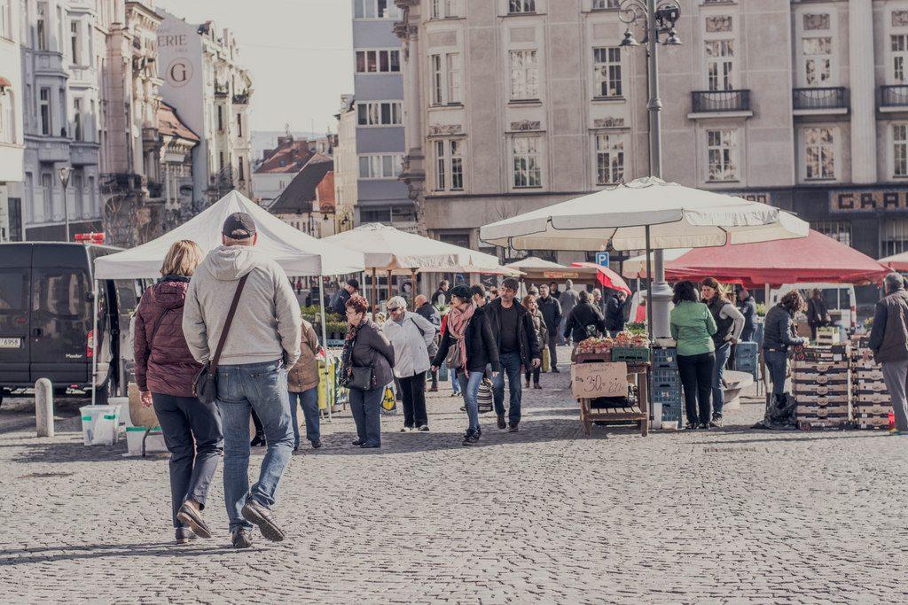 trhy na zelňáku v brne