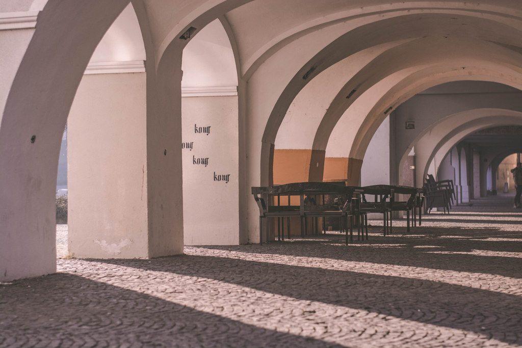 arkády laubne žilina mariánske námestie