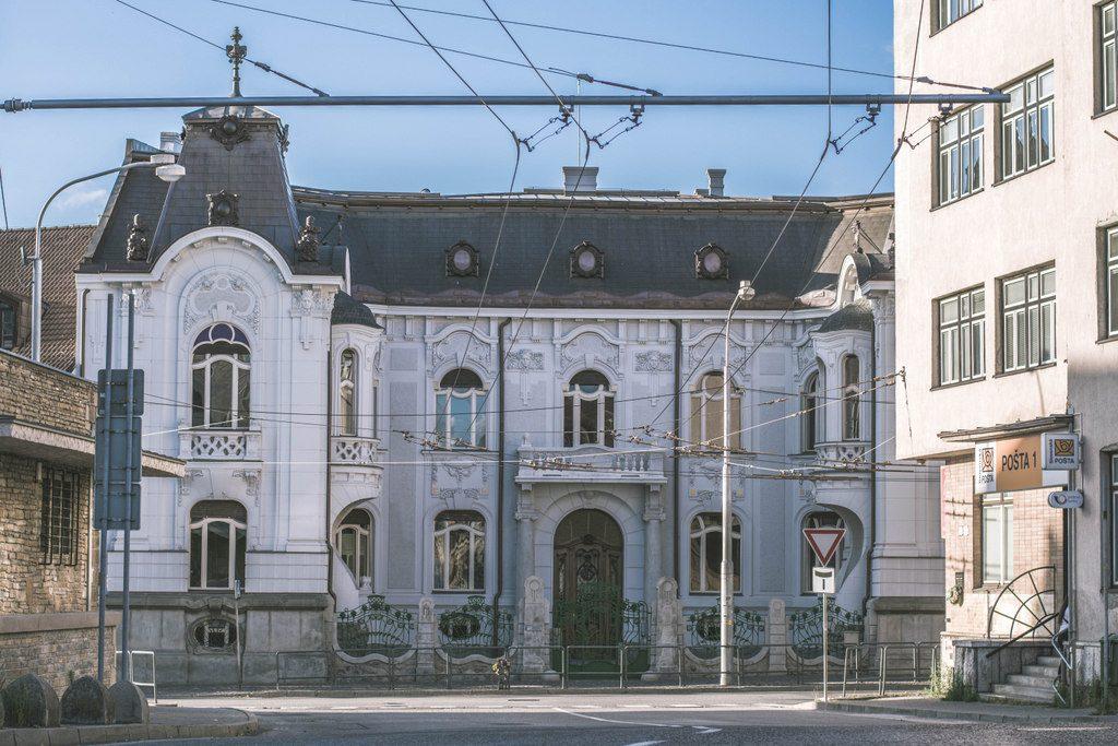 palác ignáca rosenfelda v žiline