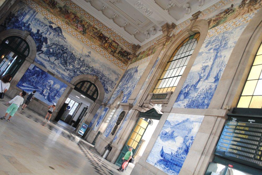 Vlaková stanica Sao Bento Porto