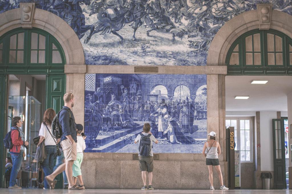 vlakova stanica v porte