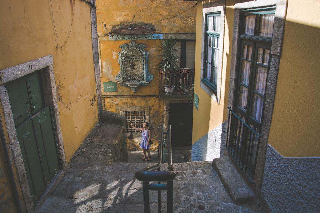 uličky v porte