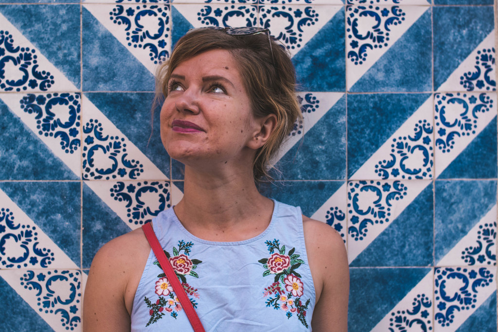 dlaždice azulejos v porte