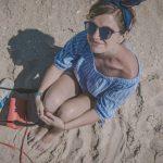 piesočná pláž na pláži costa nova